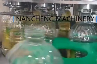 5L rotary edible oil filling