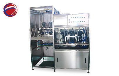 Automatic bottle external and internal brusher 2 in 1 unit