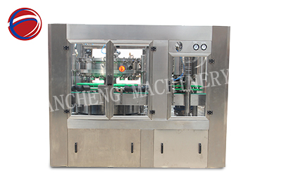 3000bph pop can filling and sealing machine