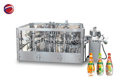 NC four-in-one fruit beverage filling series