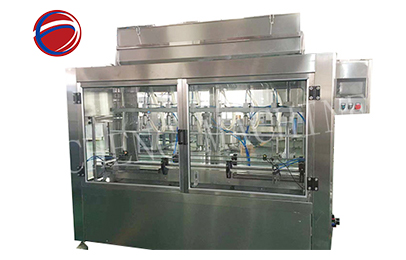 600-800bph Time control linear type filliing machine