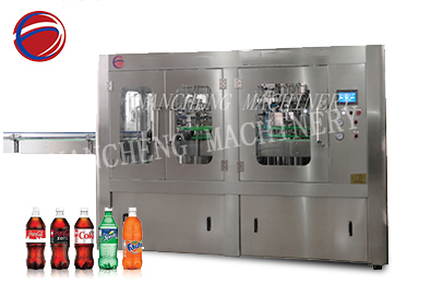 1000bph carbonated drink 3-in-1 filling machine